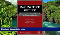 READ FULL  Injunctive Relief: Temporary Restraining Orders and Preliminary Injunctions  READ Ebook