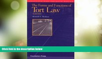 Big Deals  The Forms and Functions of Tort Law (Concepts and Insights)  Full Read Most Wanted