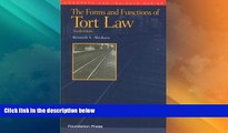 Big Deals  The Forms and Functions of Tort Law (Concepts and Insights)  Best Seller Books Most