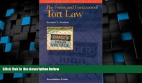 Big Deals  The Forms and Functions of Tort Law (Concepts   Insights)  Best Seller Books Best Seller