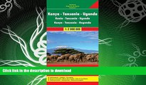 FAVORITE BOOK  Kenya / Tanzania / Uganda FB 1:2M 2013 (English, French and German Edition)  GET