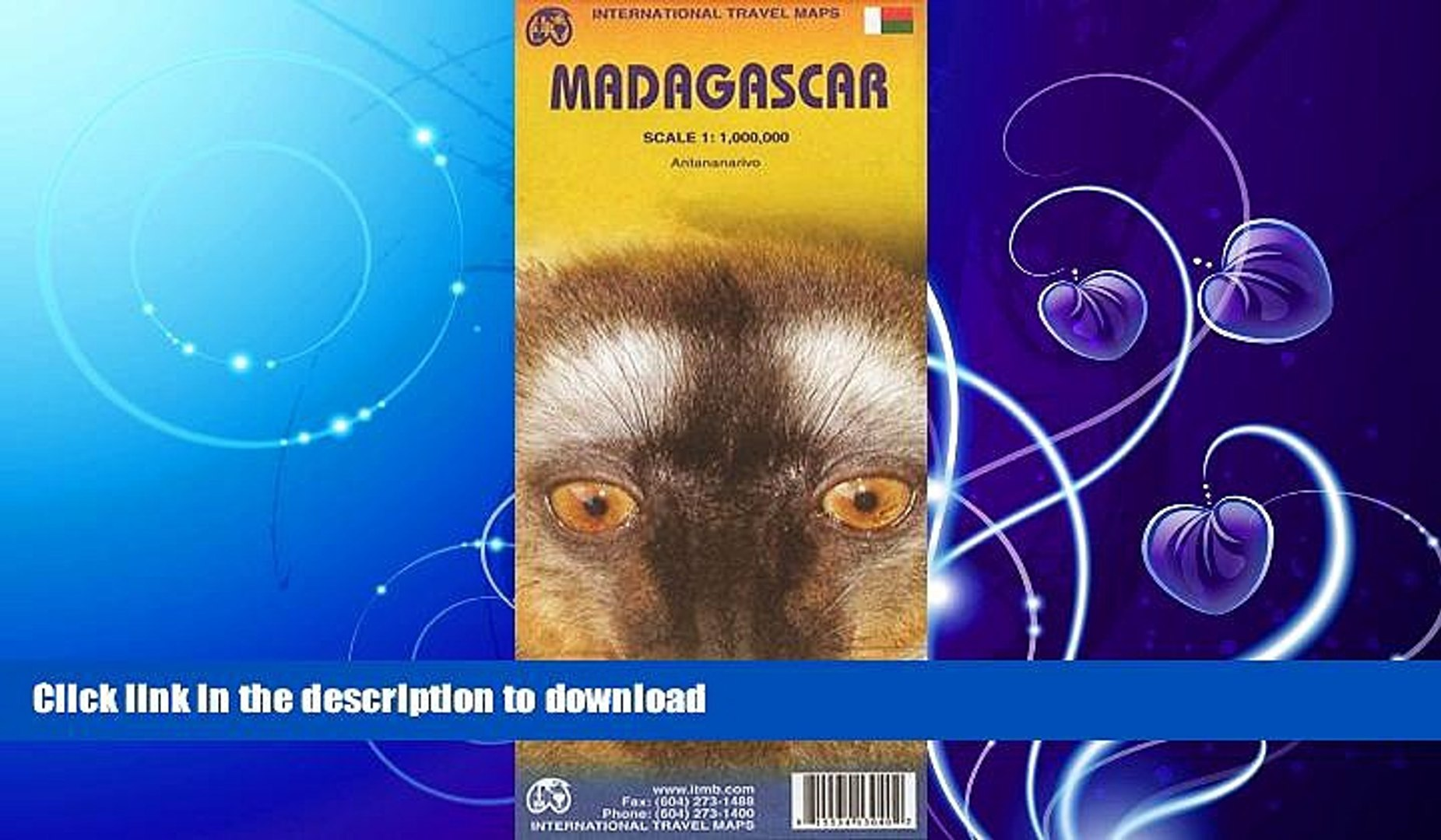 EBOOK ONLINE  Madagascar 1:1 000 000 inclued Antananarivo inset (International Travel Maps) FULL