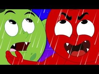 дождь дождь дети песня   потешки для детей   песни для детей
