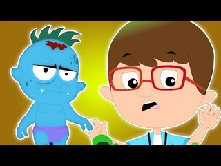 Хэллоуин ночь   Очень страшное мультфильм для детей   Популярная видео детей   Halloween Night