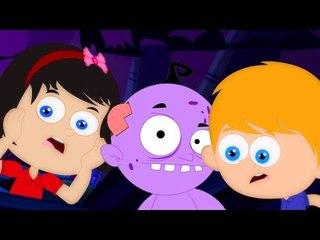 Хэллоуина Ночь   Nursery рифме для детей   Страшные коллекция для дети   Halloween Night song
