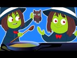 Brujas sopa canción   brujas Canción   De Miedo animación   Halloween canción   Witch Soup Song