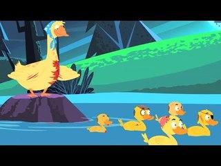 cinco patitos   canción de cuna para niños   canción para niños en español