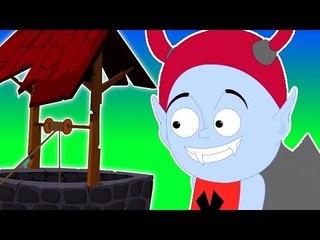 Jack y Jill subieron a la colina | Cartoon para los niños | compilación | Asustadiza Rima