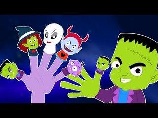 monstruo Dedo Familia | Las poesías infantiles colección | Songs para niños | Monster Finger Family