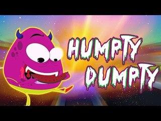 Humpty Dumpty saß an der Wand | beliebte Kinderreim | Bildungs-Video |Humpty Dumpty Sat On The Wall