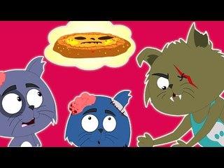 drei kleine Kätzchen | BildungsKarikaturvideo | beliebte Kinderreim