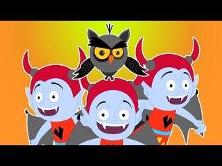 Счастливы Хеллоуин | популярна видео страшно для детей | Halloween song | One Little Zombie