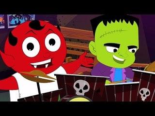 призрак они любят ходить   Страшные дети видео   Хэллоуин песня   Ghost They Love To Walk Tonight