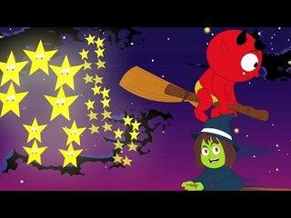 Twinkle Twinkle маленькая звезда   страшновато детский стишок для детей в России   дети песня