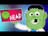 Testa spalle ginocchia e piedi | popolare filastrocca per | video educative | Head Shoulders Rhyme