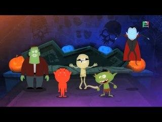 cinque piccoli mostri   filastrocca   bambini compilation   video di bambini   Five Little Monsters