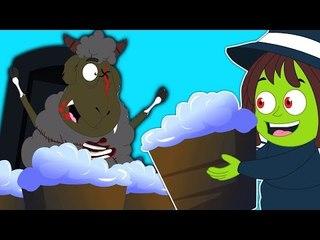 Baa Baa Mouton Noir | Vidéo Effrayant | Populaire Comptine