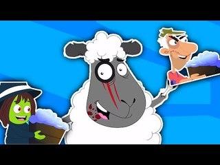 Baa Baa Mouton Noir | de compilation | vidéo éducatif | Popular Comptine