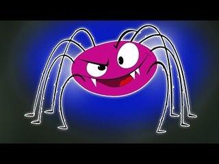 Incy Wincy Aranha   vídeo assustador para as crianças   viveiro rima   Kids Video   Kindergarton