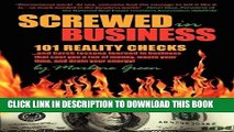 [Ebook] Screwed in Business! 101 Reality Checks and Harsh Lessons Learned in Business that Cost