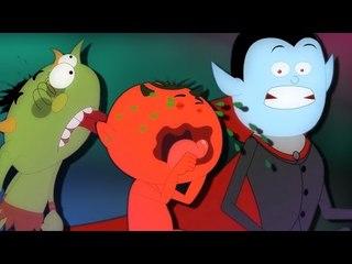 fünf kleine Monsters   Monster Lied   Reime in Deutsch für Kinder
