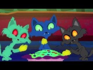três gatinhos pequenos   rima assustador   vídeo assustador   Three Little Kittens   Scary Song