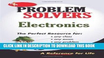 [PDF] Electronics Problem Solver (Problem Solvers Solution Guides) Full Online