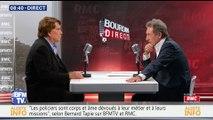 Bernard Tapie face à Jean-Jacques Bourdin en direct