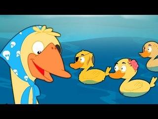 Five Little Ducks | ห้าเป็ดน้อย | เด็กบ๊อง | เด็กสัมผัสที่เป็นที่นิยม