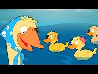 Five Little Ducks   ห้าเป็ดน้อย   เด็กบ๊อง   เด็กสัมผัสที่เป็นที่นิยม