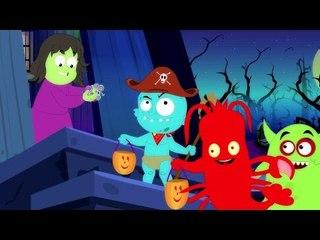 bonbons ou un sort | Halloween chanson vidéo | Trick Or Treat Halloween Song | Kids Songs