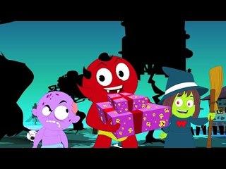 แจ็ค o โคมไฟ | การ์ตูนน่ากลัวสำหรับเด็ก | ซ่เด็กที่นิยม | Jack O'Lantern | Haunted Kids Video