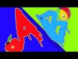 ABC morceau | Cartoon pour les enfants | vidéo éducatif | Compilation | Effrayant ABC Chanson