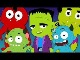 halloween is back   nursery rhymes   kids songs   scary rhymes