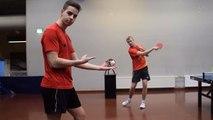 Le Best of de trickshots en ping pong par les finlandais de Pongfinity