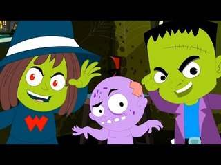 ghost they love to walk tonight   scary rhymes   halloween song   nursery rhymes