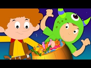 trick or treat   happy halloween   songs for kids   rhymes for children