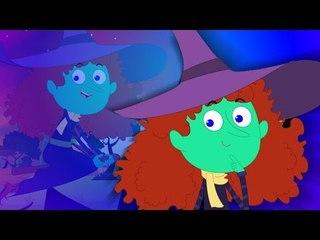แก้มอ้วน | เด็กบ๊องที่น่ากลัว | วิดีโอการศึกษา | Halloween Song | Nursery Rhymes | Chubby Cheeks