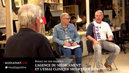 Retour sur nos enquêtes: l'essai clinique de Rennes