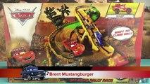 Disney Cars Piste Radiator Springs 500 1/2 Off Road Rally Flash McQueen 4k Les Bagnoles Jouet