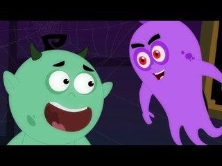 happy halloween song   scary nursery rhymes   kids songs   baby videos