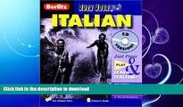 GET PDF  Rush Hour Italian (Berlitz Rush Hour All-Audio) (Italian Edition) FULL ONLINE