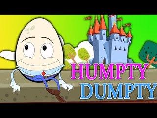 Humpty Dumpty Sat On A Wall | Biên dịch cho trẻ em | Popular Mầm Non của Rhyme