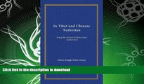 FAVORITE BOOK  In Tibet and Chinese Turkestan: being the record of three years  exploration  BOOK