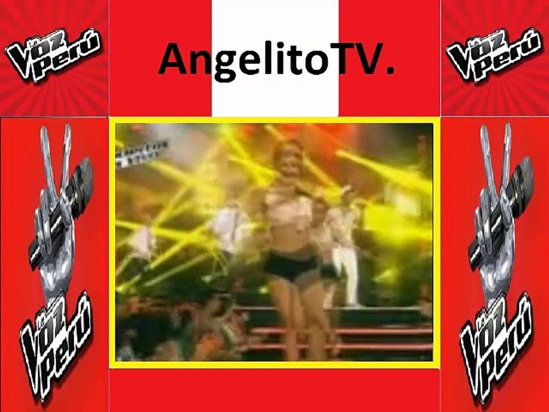 La Voz Perú 02-11-2015 Diego Dextre canta