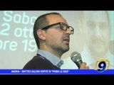 Andria |  Matteo Salvini ospite di Prima delle idee. Contestazioni in piazza