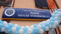 Ardahan Posof Meslek Yüksekokulu'na Davul-Zurnalı Açılış