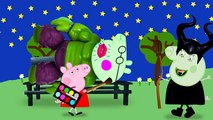 #Peppa pig has #become a bat wicked witch #Finger Family #Nursery Rhymes Lyrics Parody