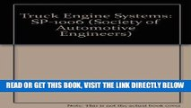 [FREE] EBOOK Truck Engine Systems: SP-1006 (Society of Automotive Engineers) BEST COLLECTION