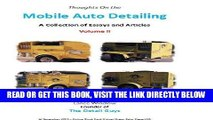 [FREE] EBOOK Mobile Auto Detailing - A Collection of Essays and Articles Volume II (Lance Winslow